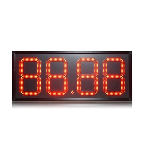 "Popular al aire libre impermeable D15 ""Red 88.88 Control remoto Led señal de gasolinera"